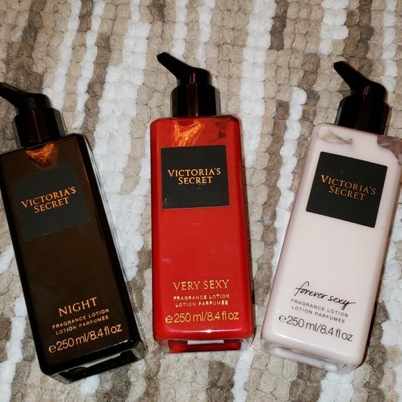 Victorias Secret lotions get all 3